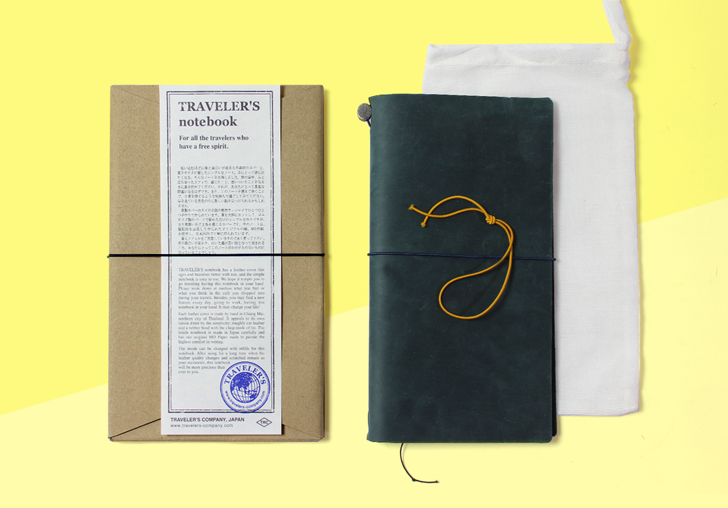 Traveler's company – Blue Traveler's Notebook