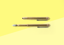Load image into Gallery viewer, TRAVELER'S COMPANY - Brass Fountain Pen