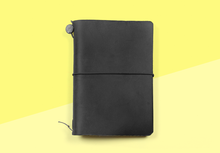 Load image into Gallery viewer, TRAVELER'S COMPANY – Traveler's Notebook Passport - Black