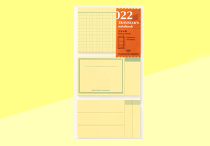 TRAVELER'S COMPANY – Traveler's Notebook Regular - 022 Sticky Notes