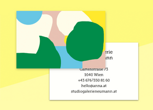 "business cards  – ""cocon"""