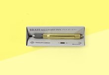 Load image into Gallery viewer, TRAVELER'S COMPANY – Brass Ballpoint Pen