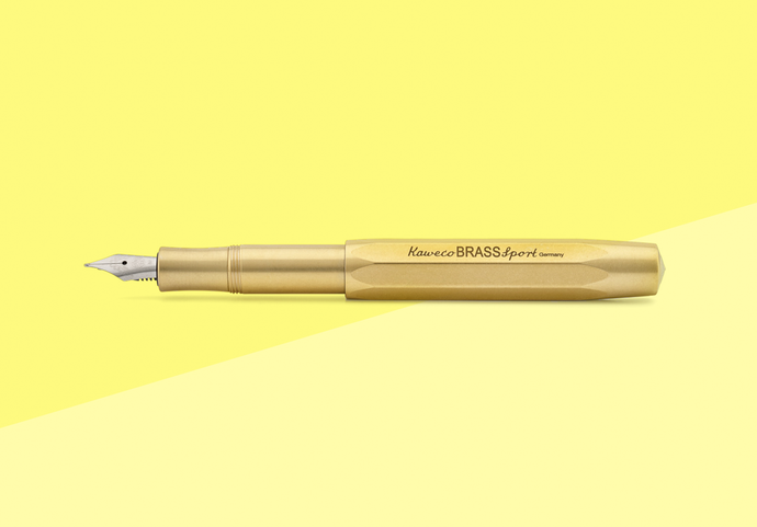 KAWECO - Sport Fountain Pen - Brass