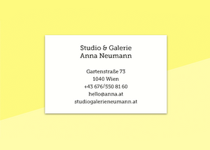 "business cards  – ""cerise"""