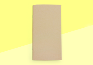 TRAVELER'S COMPANY – Traveler's Notebook Regular – 014 Kraft Paper Notebook