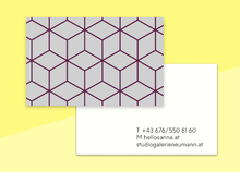 "Load image into Gallery viewer, business cards  – ""carrelage"""
