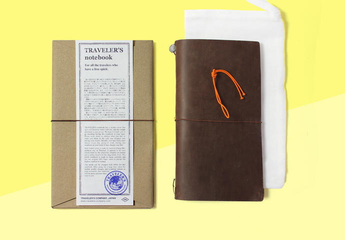 TRAVELER'S COMPANY – Traveler's Notebook Regular - Brown