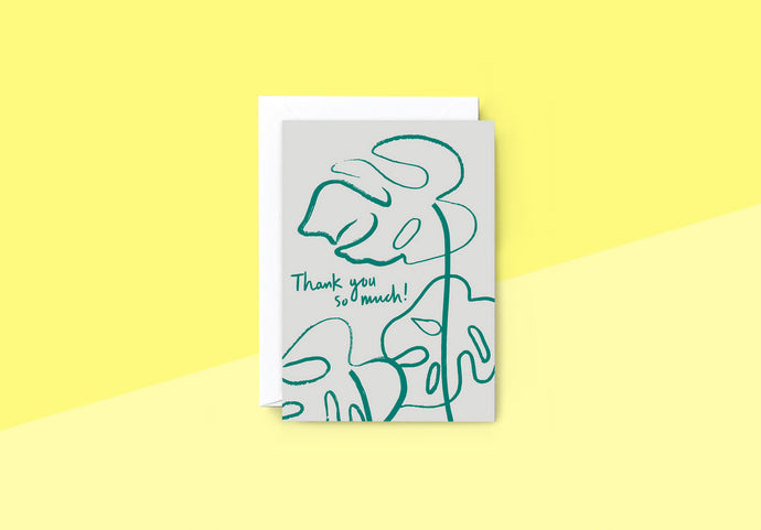 Wrap - Greeting card - Thank you so much!