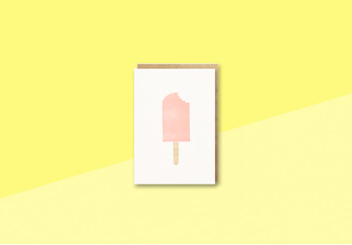 BITS AND BOBS - mini Greeting card -  Icecream