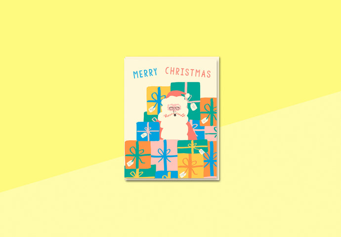 Greeting card - Nineteenseventythree - Santa