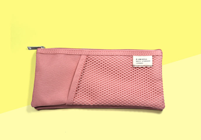Livework - Mesh Pencil Case - Rose