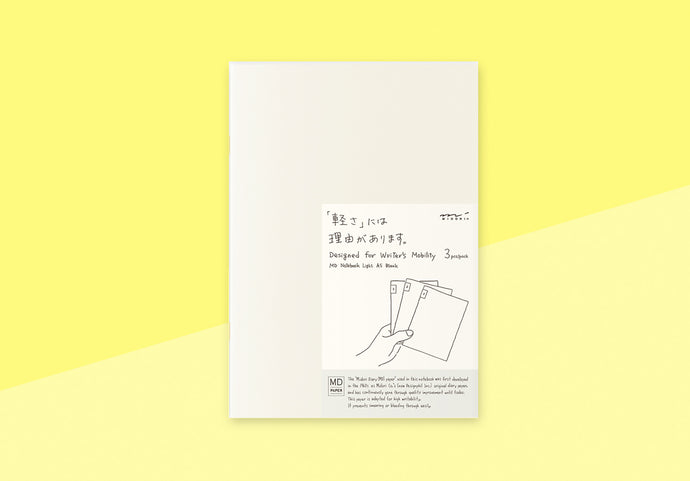 MIDORI - MD Notebook Light - A5 Blank