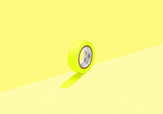 MT Masking Tape - shocking yellow