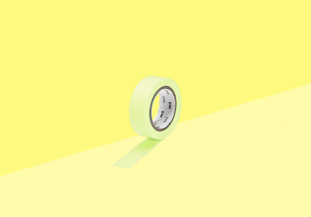MT Masking Tape - pastel lime