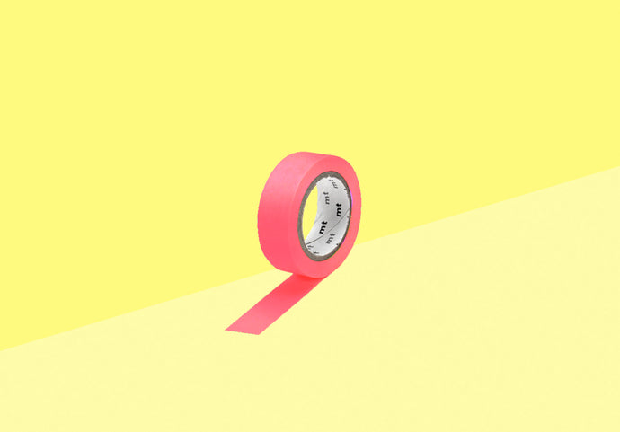MT Masking Tape - shocking pink
