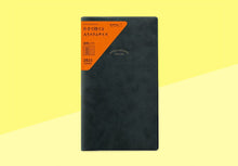 Load image into Gallery viewer, MIDORI - 2021 PRD-9 weekly - memo diary - black