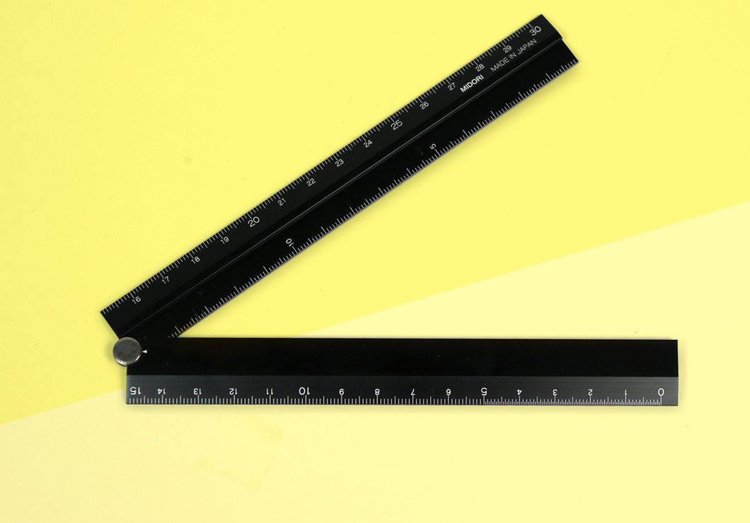 MIDORI – MD Stationery - Aluminium Multiple Ruler