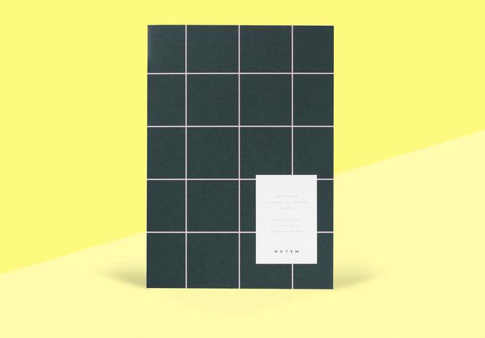 NOTEM - Milo Weekly Planner - Dark Blue