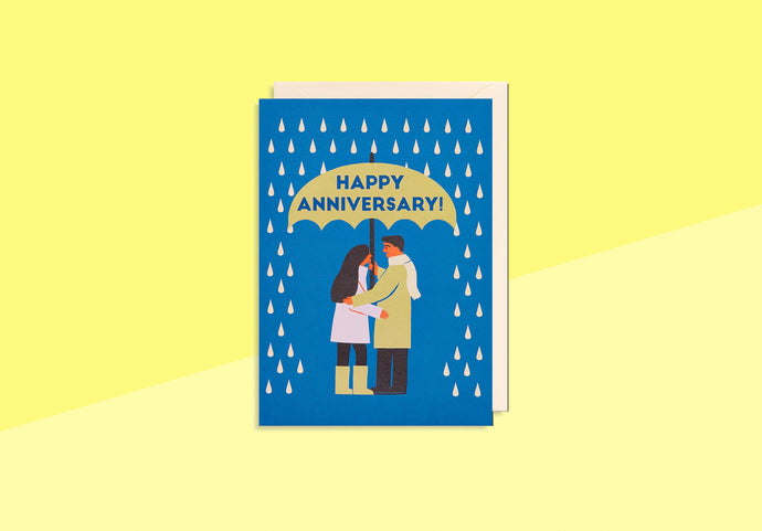 Greeting card - Naomi Wilkinson - Happy Anniversary!