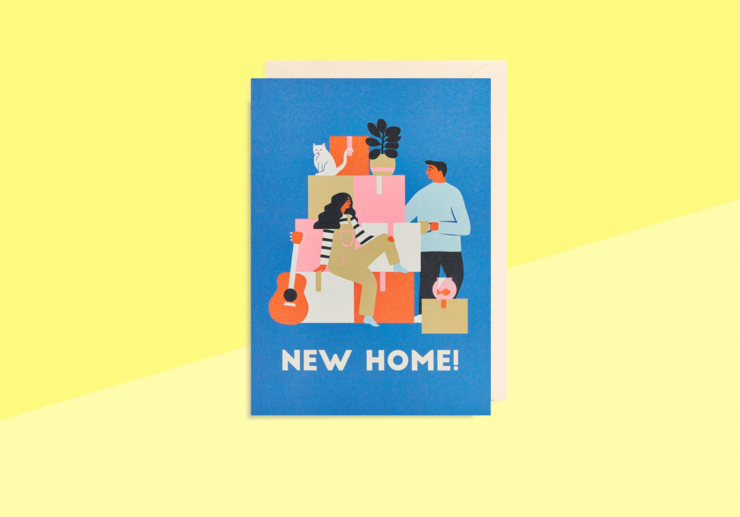 Greeting card - Naomi Wilkinson - New Home!