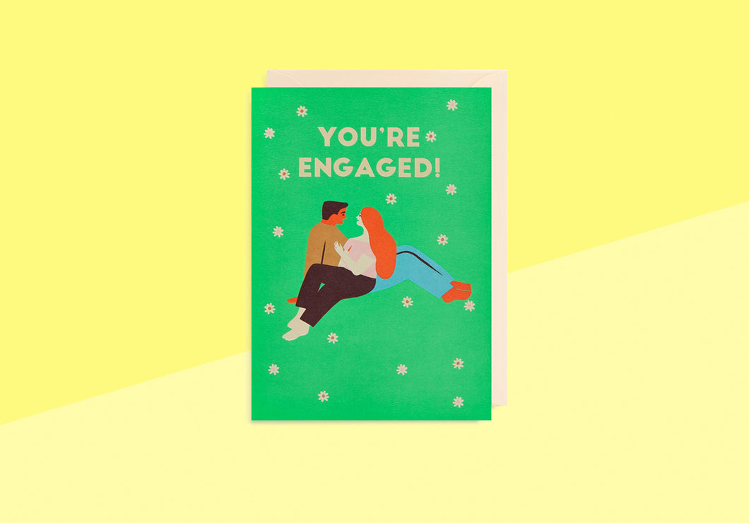Greeting card - Naomi Wilkinson - You're Engaged!