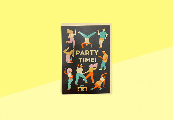 Greeting card - Naomi Wilkinson - Party Time