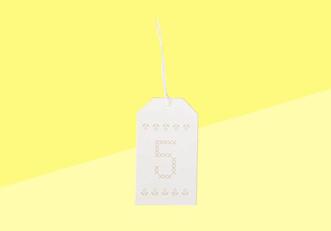Paper Poetry - Gift Tags - Creme