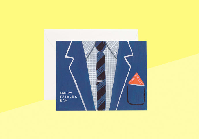 Rifle Paper Co. - Greeting Card - Father's Day Suit