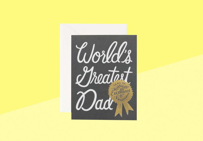 Rifle Paper Co. - World's Greatest Dad