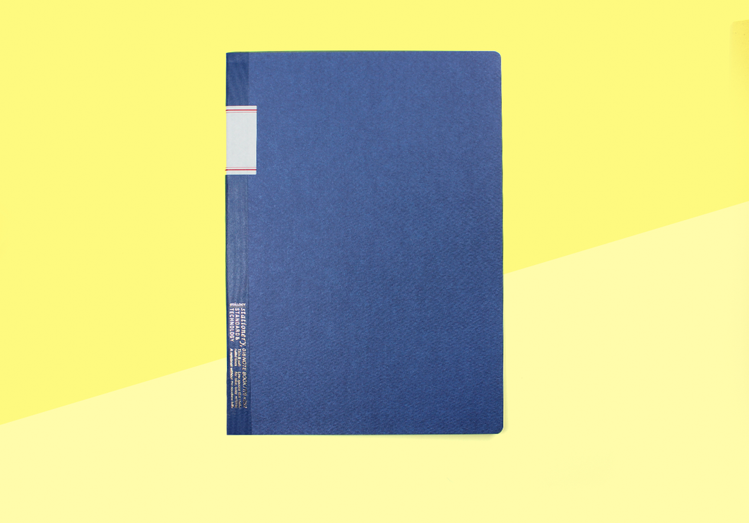 STÁLOGY - B5 Notebook - Blue