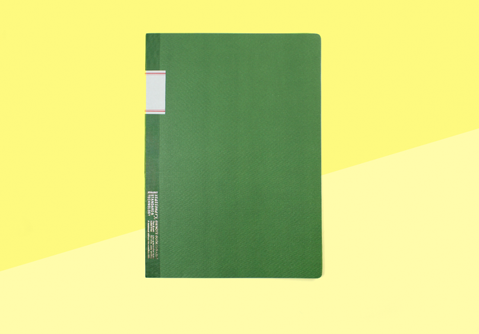 STÁLOGY - B5 Notebook - Green