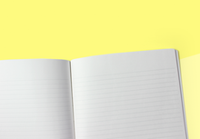 Load image into Gallery viewer, STÁLOGY - B5 Notebook - Yellow