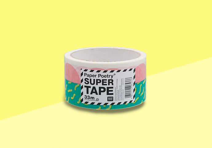 Paper Poetry - Super Tape -  Packing Tape