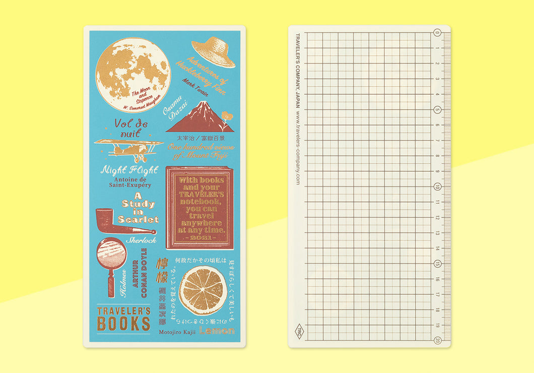 (PREORDER) TRAVELER'S COMPANY - Traveler's Notebook Regular - 2021 Writing Board