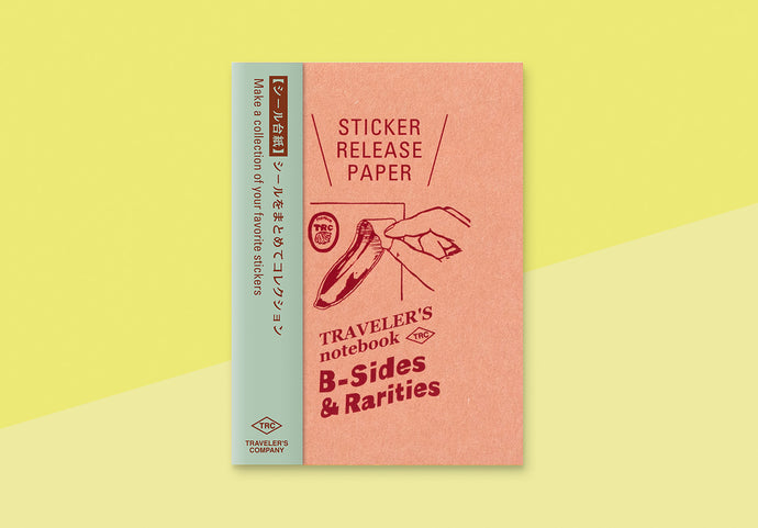*PREORDER* - TRAVELER'S COMPANY -  Traveler's Notebook passport - sticker release paper