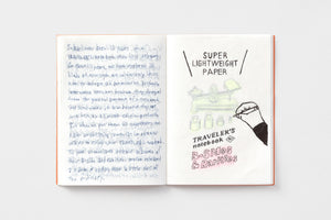 *PREORDER* - TRAVELER'S COMPANY -  Traveler's Notebook passport - super light weight paper