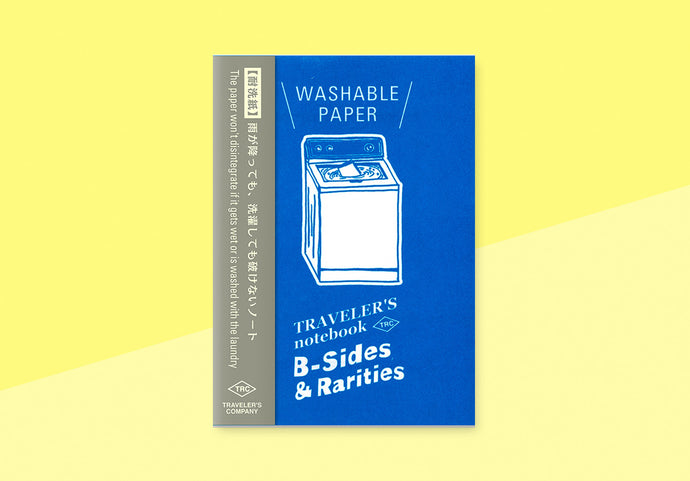 *PREORDER* - TRAVELER'S COMPANY -  Traveler's Notebook passport - washable paper