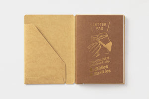 TRAVELER'S COMPANY -  Traveler's Notebook passport - letter pad