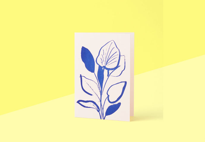 Wrap - Greeting card - Lily Study