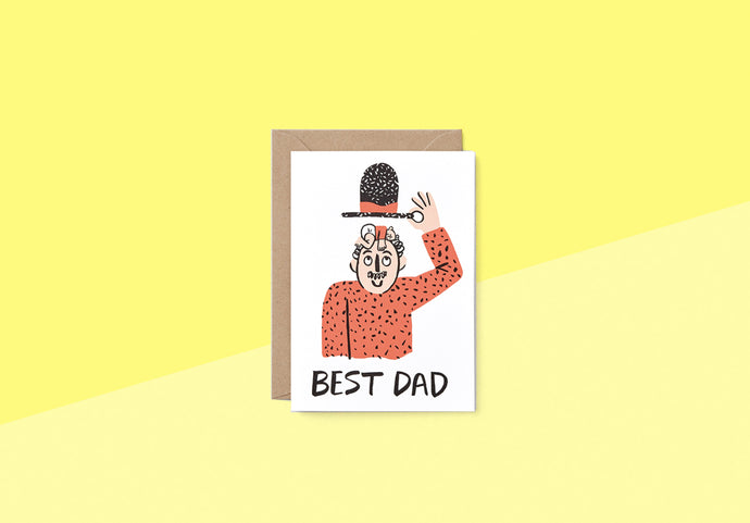 Wrap - Greeting card - Best Dad