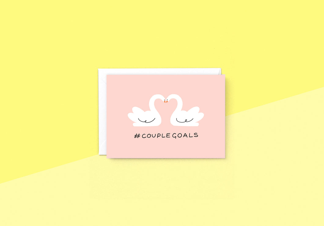 Wrap - Greeting card - Couple Goals