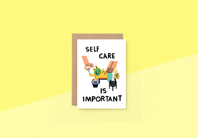 Wrap - Greeting card - Self Care