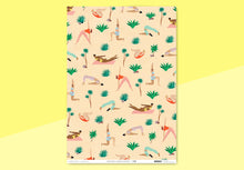 Load image into Gallery viewer, Wrap - Wrapping Paper - Yoga