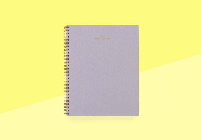 Appointed - Year Task Planner - lavender gray