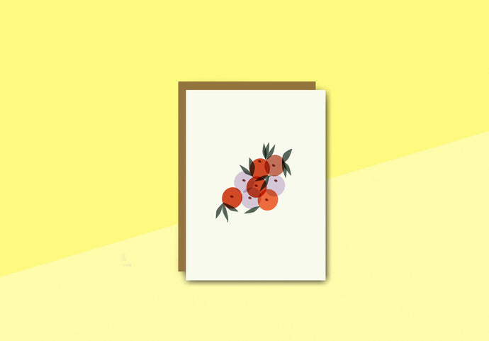 sous-bois - Greeting card - fruits
