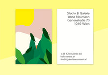 "Load image into Gallery viewer, business cards  – ""bird"""