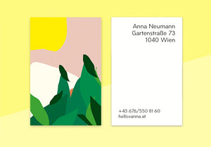"business cards  – ""bird"""