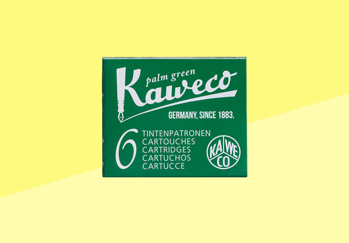 KAWECO - Ink Cartridges - Palm Green