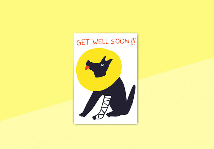 Nineteenseventythree - Greeting card - Cachete Jack, get well soon