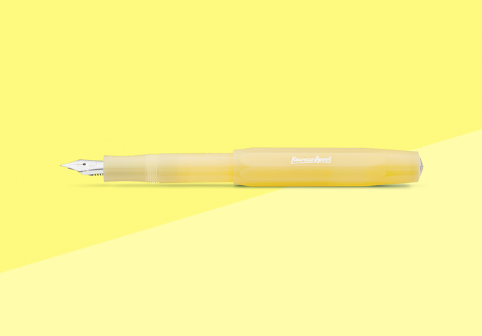 Kaweco - FROSTED Sport - Fountain pen Sweet Banana